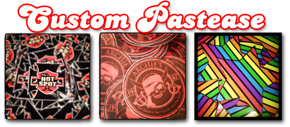 Custom Promotional Logo Print Breast Pasties by Pastease