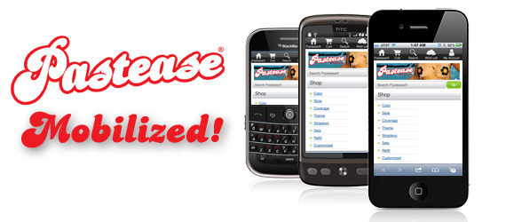 pastease-mobile-phone-website