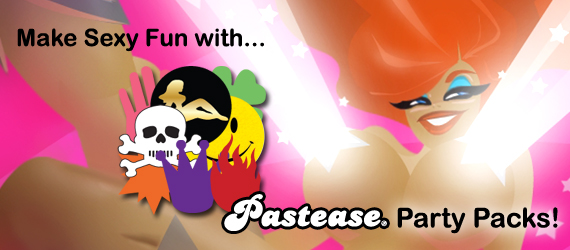 Pastease® Party Packs Variety of Breast Pasties for Events